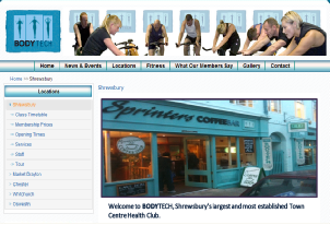 Click For Link To Bodytechs Shrewsbury Branch Website